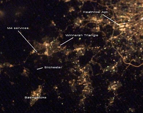 Thames Valley at Night