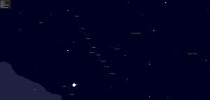 Finder Chart for Comet Garradd